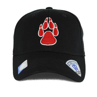 New Mexico Lobos Top Of The World Premium Collection Black One Fit Flex Hat (Adult One Size)