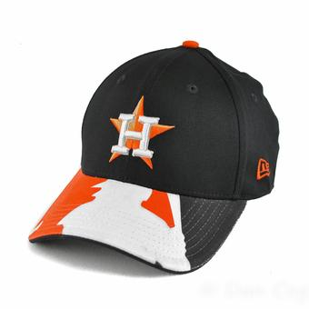 Houston Astros New Era 39Thirty Navy Swing Batter Flex Fit Hat (Adult L/XL)