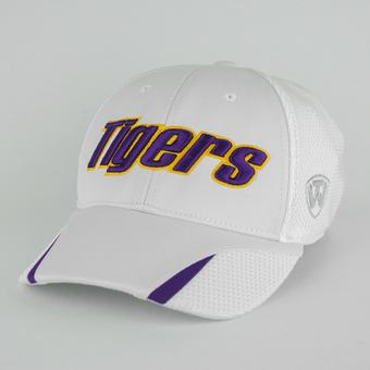 LSU Tigers Top Of The World Condor White One Fit Flex Hat (Adult One Size)