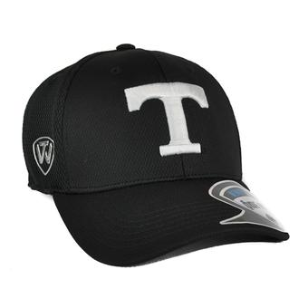 Tennessee Volunteers Top Of The World Ultrasonic Black One Fit Flex Hat (Adult One Size)