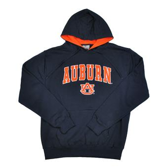 Auburn Tigers Colosseum Navy Zone Pullover Fleece Hoodie (Adult XXL)
