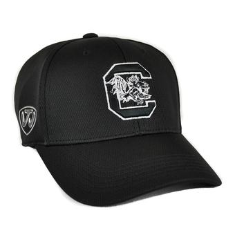 South Carolina Gamecocks Top Of The World Ultrasonic Black One Fit Flex Hat (Adult One Size)