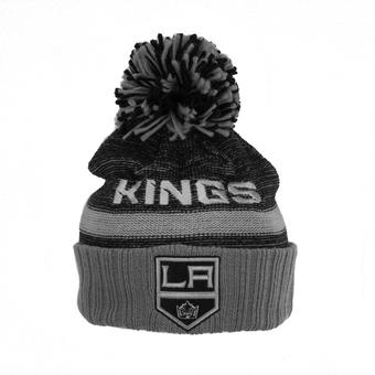 Los Angeles Kings Reebok Multi Color Cuffed Knit Hat (Adult One Size)