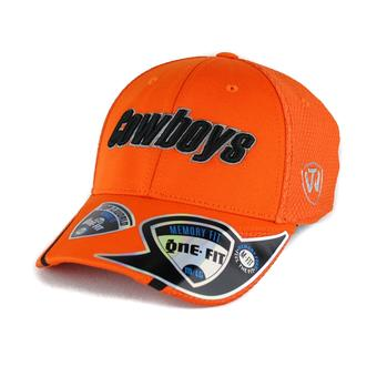 Oklahoma State Cowboys Top Of The World Condor Orange One Fit Flex Hat (Adult One Size)