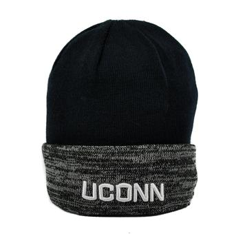 Connecticut Huskies Top Of The World Navy & Gray Quasi Cuffed Knit Hat (Adult One Size)