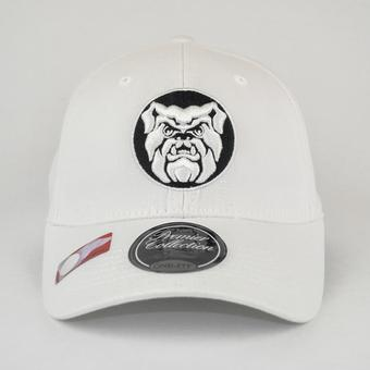 Butler Bulldogs Top Of The World Premium Collection White One Fit Flex Hat (Adult One Size)