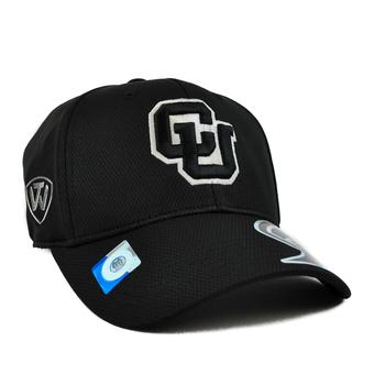 Colorado Buffaloes Top Of The World Ultrasonic Black One Fit Flex Hat (Adult One Size)