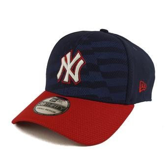 New York Yankees New Era Navy 39Thirty Stars & Stripes Flex Fit Hat (Adult L/XL)