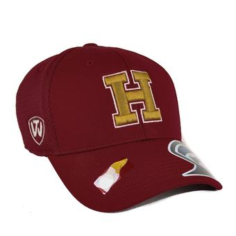Harvard Crimson Top Of The World Resurge Crimson One Fit Flex Hat (Adult One Size)