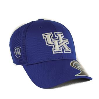 Kentucky Wildcats Top Of The World Resurge Blue One Fit Flex Hat (Adult One Size)