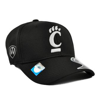 Cincinnati Bearcats Top Of The World Ultrasonic Black One Fit Flex Hat (Adult One Size)