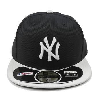 New York Yankees New Era Diamond Era 59Fifty Fitted Navy & White Hat (7 1/4)