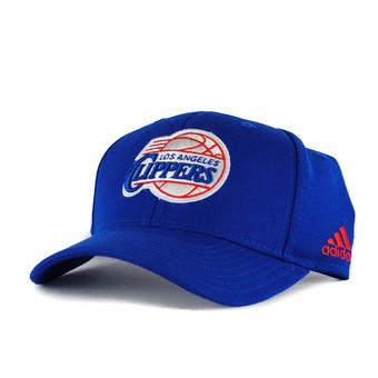 Los Angeles Clippers Adidas NBA Pro Adjustable Blue Velcro (Adult One Size)