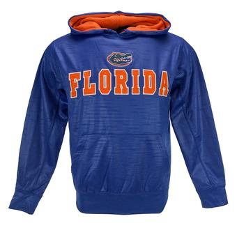Florida Gators Colosseum Blue Surge Pullover Performance Fleece Hoodie (Adult S)