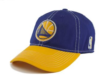 Golden State Warriors Adidas NBA Navy & Gold Slouch Flex Fit Hat (Adult L/XL)