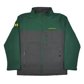 Oregon Ducks Colosseum Forest Green & Grey Yukon II Full Zip Jacket (Adult L)