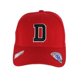 Davidson Wildcats Top Of The World Premium Collection Red One Fit Flex Hat (Adult One Size)