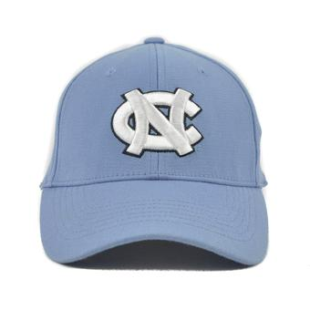 North Carolina Tar Heels Top Of The World Premium Collection Baby Blue One Fit Flex Hat (Adult One Size)