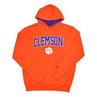Clemson Tigers Colosseum Orange Zone Pullover Fleece Hoodie (Adult XXL)