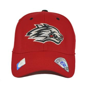 New Mexico Lobos Top Of The World Premium Collection Red One Fit Flex Hat (Adult One Size)