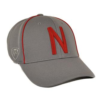 Nebraska Cornhuskers Top Of The World Charcoal Grey One Fit Flex Hat (Adult One Size)