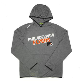 Philadelphia Flyers Reebok Grey TNT Performance Hoodie (Adult L)