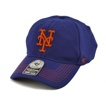 New York Mets '47 Brand Royal Game Time 47 Closer Stretch Fit Hat (Adult One Size)