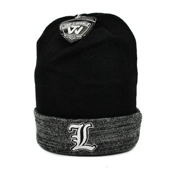 Louisville Cardinals Top Of The World Black & Gray Quasi Cuffed Knit Hat (Adult One Size)