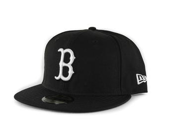 Boston Red Sox New Era 59Fifty Fitted Black Hat (7 5/8)