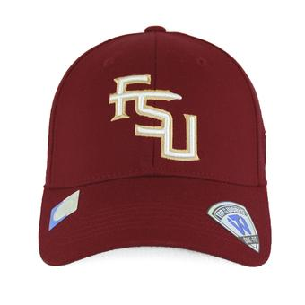 Florida State Seminoles Top Of The World Premium Collection Maroon One Fit Flex Hat (Adult One Size)