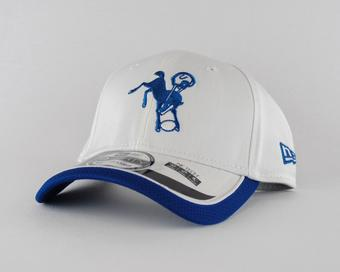 Indianapolis Colts New Era White Team Colors 39Thirty On Field Fitted Hat (Adult M/L)