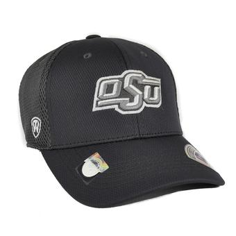 Oklahoma State Cowboys Top Of The World Fairway Charcoal Grey One Fit Flex Hat (Adult One Size)