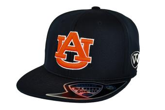 Auburn Tigers Top Of The World Slam Navy One Fit Flex Hat (Adult One Size)