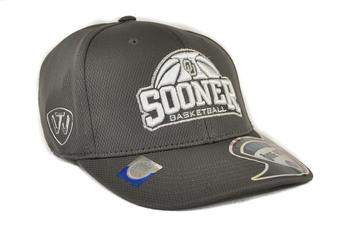 Oklahoma Sooners Top Of The World Ultrasonic Charcoal Grey One Fit Flex Hat (Adult One Size)