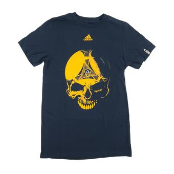 Los Angeles Galaxy Adidas Navy Go To Skull Tee Shirt (Adult M)