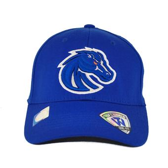 Boise State Broncos Top Of The World Premium Collection Blue One Fit Flex Hat (Adult One Size)