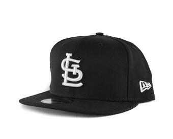 St. Louis Cardinals New Era 59Fifty Fitted Black Hat