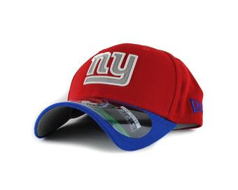 New York Giants New Era Red On Field Reflective 39Thirty Flex Fitted Hat (Adult L/XL)