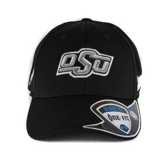 Oklahoma State Cowboys Top Of The World Ultrasonic Black One Fit Flex Hat (Adult One Size)