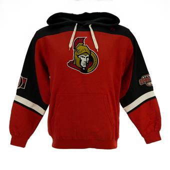 Ottawa Senators Majestic Red Ice Classic Fleece Hoodie (Adult L)