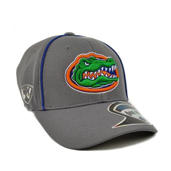 Florida Gators Top Of The World Linemen Charcoal Gray One Fit Flex Hat (Adult One Size)