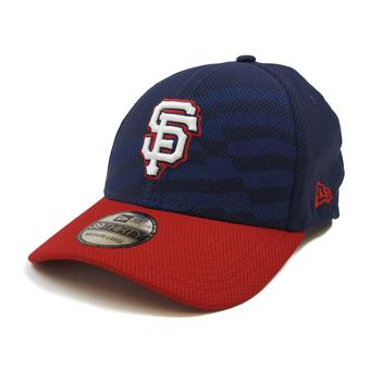 San Francisco Giants New Era Navy 39Thirty Stars & Stripes Flex Fit Hat (Adult M/L)