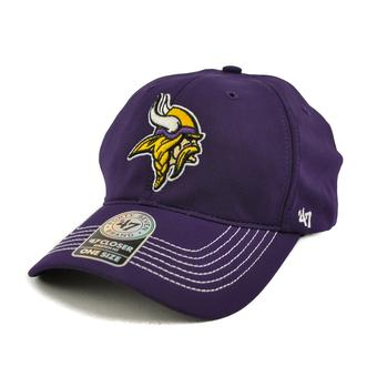 Minnesota Vikings '47 Brand Purple Game Time 47 Closer Stretch Fit Hat (Adult One Size)