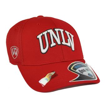 UNLV Runnin Rebels Top Of The World Resurge Red One Fit Flex Hat (Adult One Size)