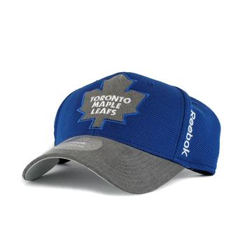 Toronto Maple Leafs Reebok Blue Playoffs Cap Flex Fitted Hat (Adult L/XL)