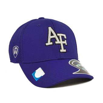 Air Force Falcons Top Of The World Resurge Blue One Fit Flex Hat (Adult One Size)