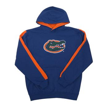 Florida Gators Colosseum Blue Youth Rally Pullover Hoodie (Youth S)