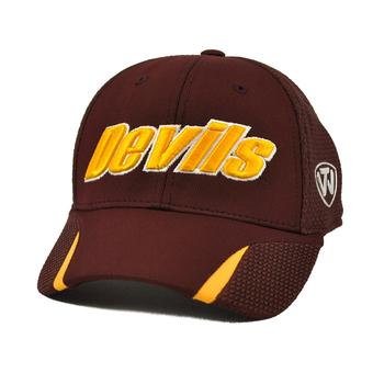Arizona St Sun Devils Top Of The World Condor Maroon One Fit Flex Fit Hat (Adult One Size)
