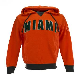 Miami Hurricanes Colosseum Orange Flurry Pullover Fleece Hoodie (Adult M)