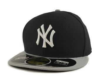 New York Yankees New Era Diamond Era 59Fifty Fitted Navy & Gray Hat